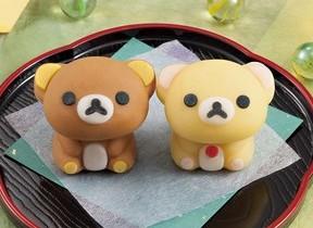 リラックマが和菓子になった「食べマス リラックマ」 ローソンに登場