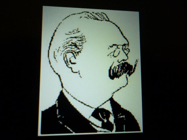 デュパルクの似顔絵