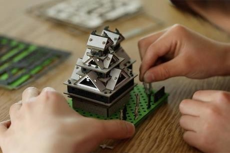 「カードボードキャッスル熊本城」
