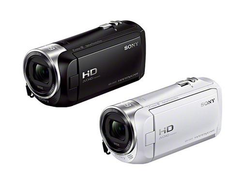 有着丰富的抖动校正、广角镜头和变焦功能的专业级摄像机