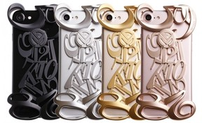 スイスの高級時計「フランクミュラー」ビザン数字モチーフのiPhoneケース