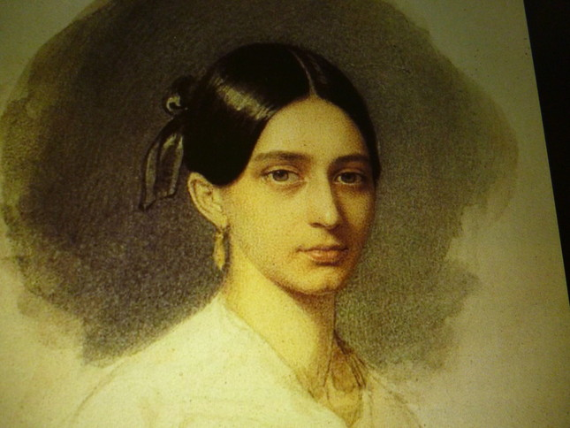 結婚前のクララの肖像
