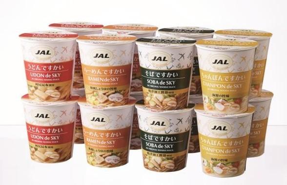 JAL SELECTIONのカップめんシリーズ「ですかい」