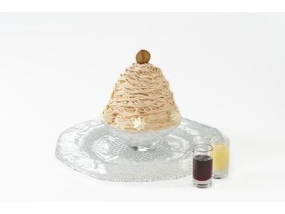 ケーキのようなデザート氷はパティスリーならでは