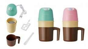 「冷却ポット」に好みの材料を入れて混ぜるだけ 便利「アイスクリームメーカー」