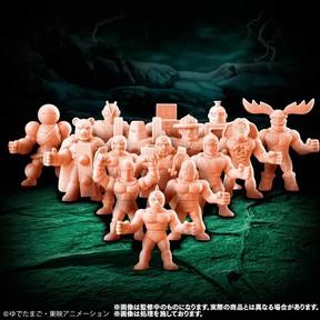 よゐこ・濱口考案の超人を含むキンケシ全15体セット 「キン肉マン キンケシプレミアムVol.3」