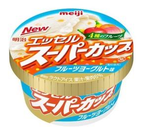 初夏に食べたい エッセルスーパーカップから爽やか「フルーツヨーグルト味」