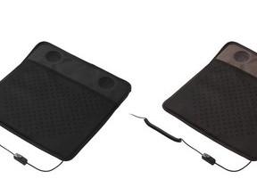 パワフル&静かな2つのファン内蔵 長時間座り続けても快適...USBシートクーラー