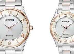 シンプルなデザインで贈り物にも最適! 「シチズンコレクション」から薄型時計ペアモデル発売