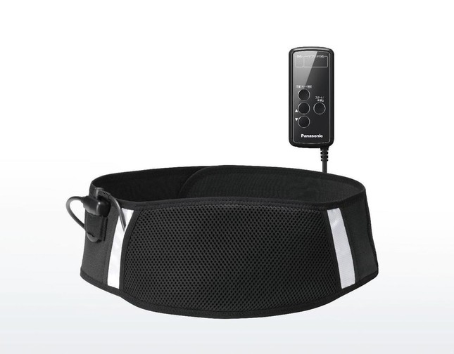 松下推出电动健身塑腰带