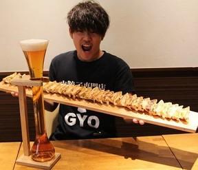 長ーーい餃子と長ーーーいビール、合わせて1290円! 閉店だよ全員集合!!