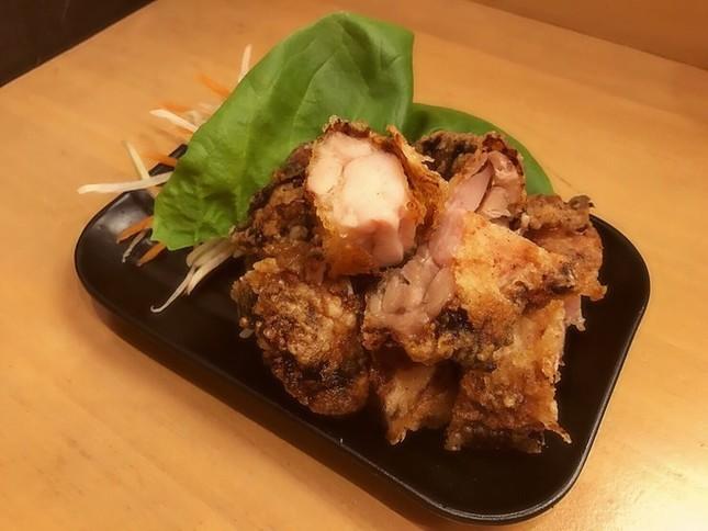 ヅケ鶏丸ごと天ぷら