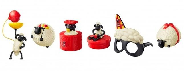 どのおもちゃがもらえるかは、お楽しみ