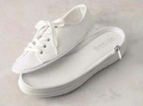 ファスナーで靴底が外せる 着せ替えできる便利シューズ