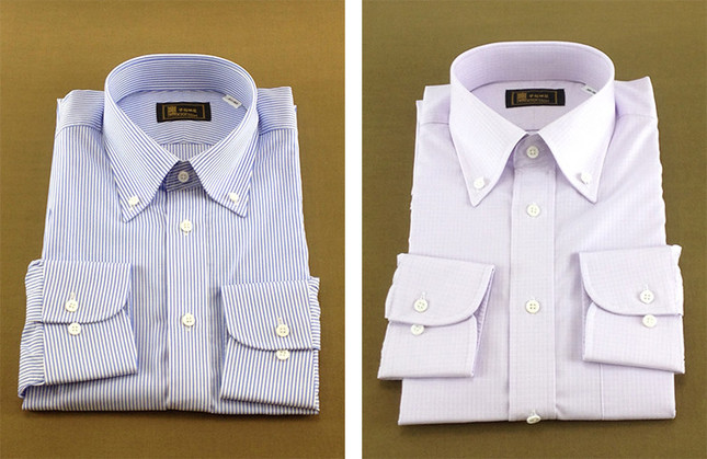 レンタル可能なシャツの一部