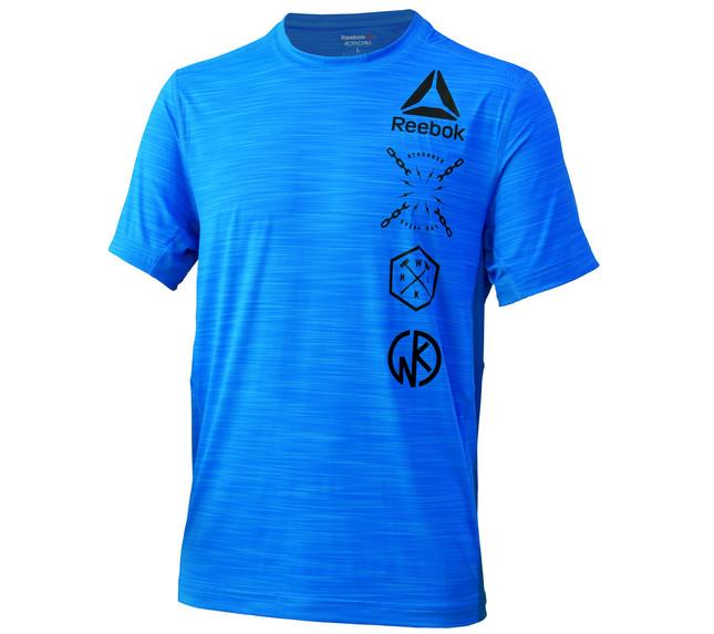 「Reebok×キン肉マンActivChill Tシャツ」