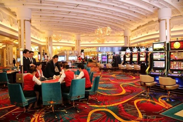 IR施設の目玉でもあるカジノは豪華絢爛