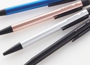 袋でも使えるタッチペン 三菱鉛筆の「ジェットストリーム スタイラス シングルノック」