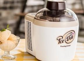 自宅で簡単に手作りアイスを ハイアールからアイスクリームメーカー「IceDeli」シリーズ