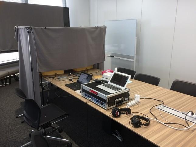 実験に使用された測定機器
