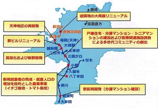 沿線開発の取り組み(説明会資料より)