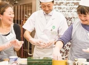 初心者大歓迎!寿司作り体験&食べ放題イベント 東京すしアカデミー大阪校で