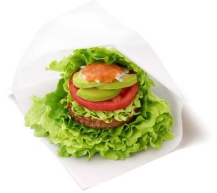 「モスの菜摘アボカドサラダ 5種の野菜とレモンのソース」
