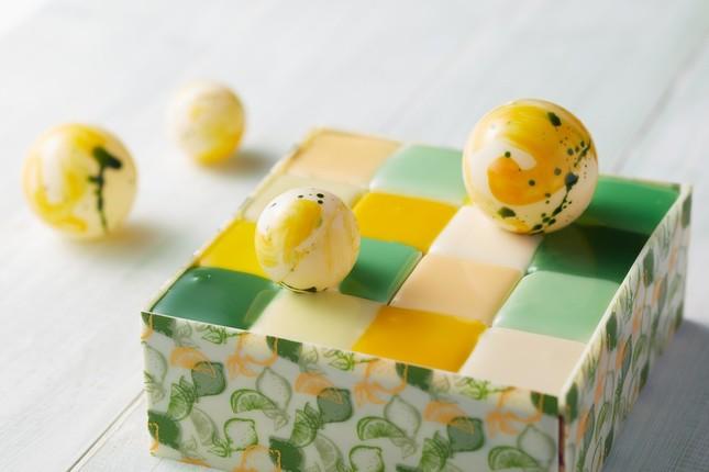 サマーモザイクケーキ