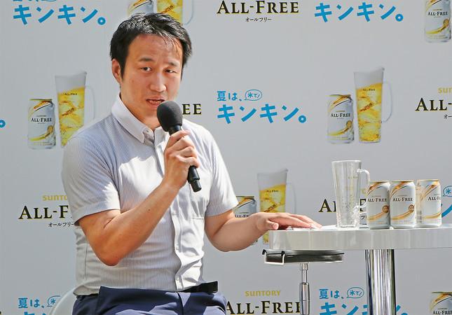味覚コンサルタントの菅慎太郎さん