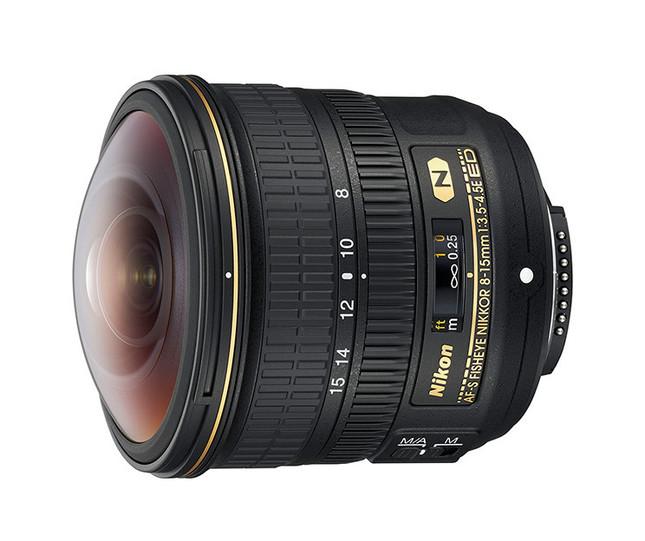 「AF-S Fisheye NIKKOR 8-15mm f/3.5-4.5E ED」