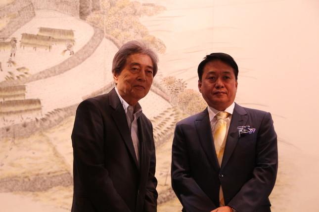 (左)細川氏(右)塩井氏