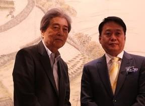 細川護煕、制作3年の「超大作」ついに完成 プレナスの米文化継承事業で