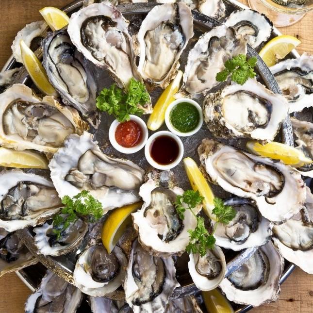 生牡蠣が常時15種以上