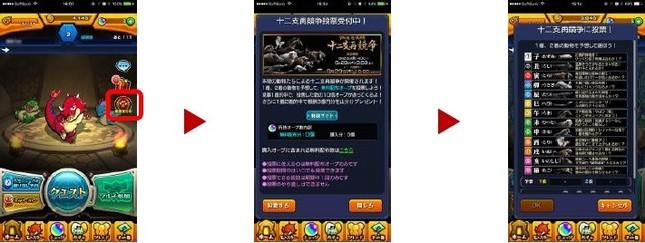 投票ページのイメージ