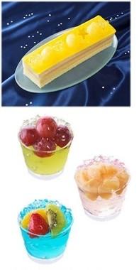 (上)サマーケーキ(下)トゥインクルデーカップ