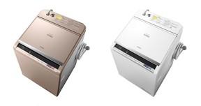 洗剤の種類や汚れの量をセンサーが見て自動調整 日立の洗濯乾燥機「ビートウォッシュ」