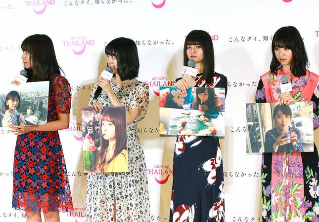 (写真左から)新内さん、堀さん、齋藤さん、西野さん