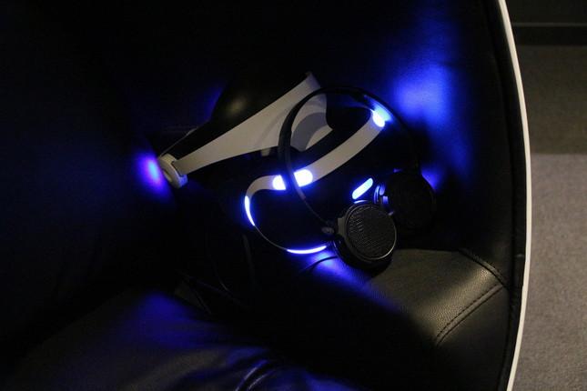 プレイステーションVRのヘッドセット