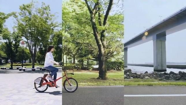 WEBムービー「東京みどりみち-Tokyo Green Ride-」