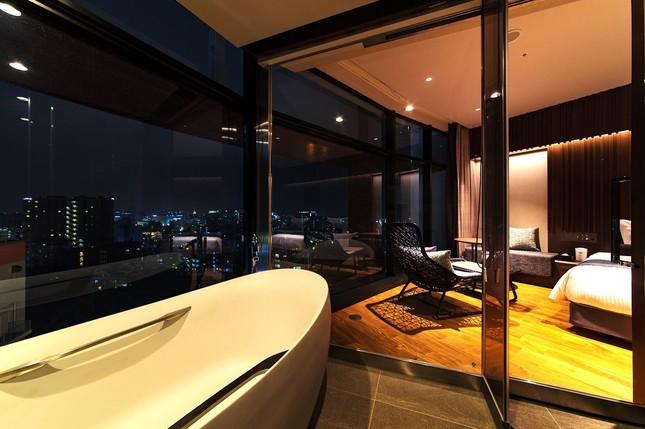 部屋からの贅沢な眺望