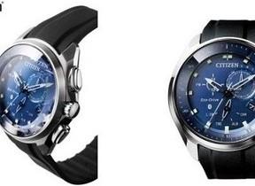 ブルーが美しいアナログ腕時計「エコ・ドライブ Bluetooth」の新作