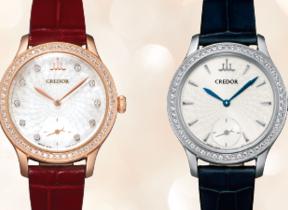 日本女性の手元をエレガントに彩る腕時計 「クレドール」から