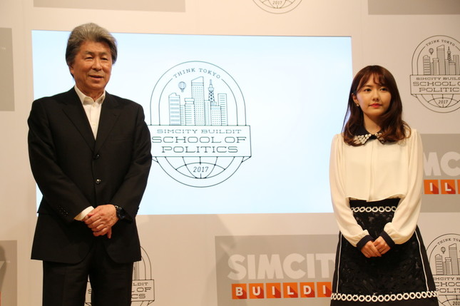 (左から)鳥越俊太郎さん、椎木里佳さん