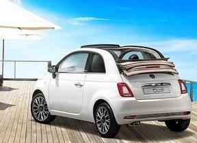 おしゃれなアイボリーのソフトトップでドライブを楽しく!「Fiat 500C Ivory Top」60台限定