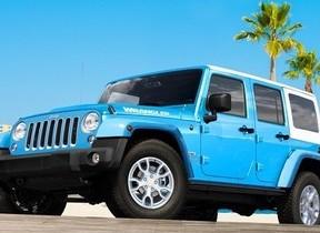 初のホワイトハードトップを組み合わせた「Jeep Wrangler JK」 100台限定