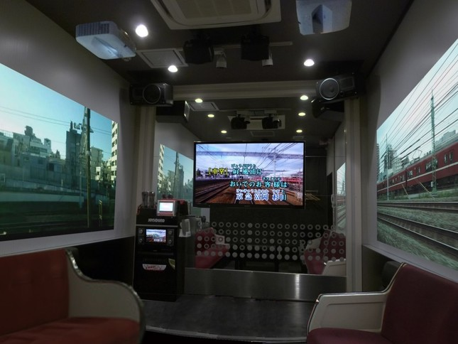 JOYSOUND品川港南口店の「京急電鉄カラオケルーム」