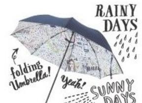 ファミマ×人気イラストレーター「Shogo Sekine」コラボ第2弾!「晴雨兼用折りたたみ傘」発売