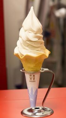あまおうソフトクリーム(THE 博多)