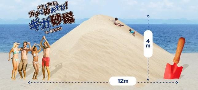 ギガ砂場のイメージ