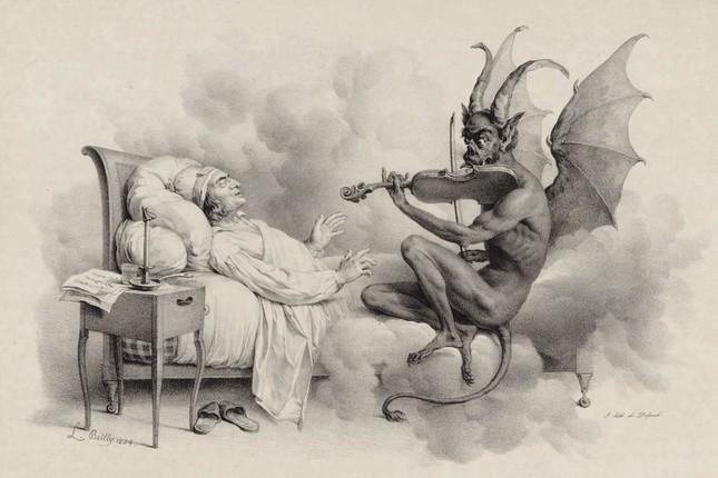 悪魔の演奏を聴くタルティーニ
